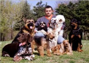 Mircea Gaspar - Contact, dresaj canin
