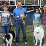 Border Collie Best of Breed / Samoyed locul 3, Grupa 5